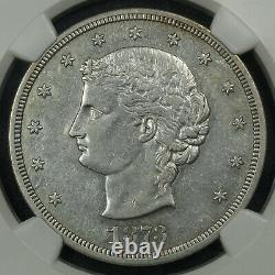 1873 Proof Pattern Judd-1281 Trade Silver Dollar Coin NGC PF 45 COOL COIN