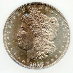 1878 7TF Reverse of 1878 Morgan Silver Dollar NGC MS 62 PL Proof Like