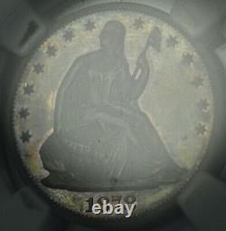 1878 Proof Seated Liberty Silver Half Dollar NGC PR 63