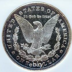 1881 S Ms64 Pl+++ Morgan Silver Dollar Proof Like