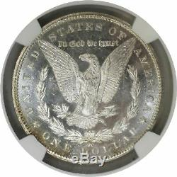 1883 CC Carson City $1 Morgan Silver Dollar NGC MS65 PL Proof Like Toned Coin