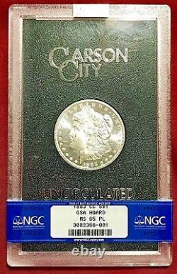 1883-cc Gsa Carson City Morgan Dollar Ngc Ms-65 Pl Proof Like