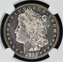1886 Morgan Dollar S$1 NGC PR60