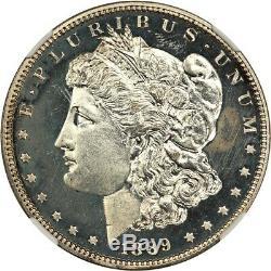1889 $1 NGC PR 62 Morgan Silver Dollar Nice, Affordable Proof Morgan