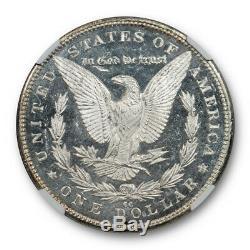 1890 CC $1 Morgan Dollar NGC MS 62 DMPL Uncirculated Deep Mirror Proof