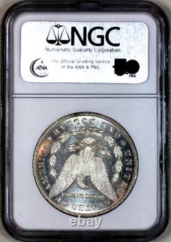 1890-cc Ms62 Pl Ngc Proof-like Morgan Silver Dollar Superb Eye Appeal