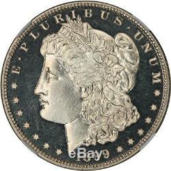 1899 $1 NGC PR 66 CAM EX Pacific Rim Collection Morgan Silver Dollar
