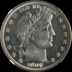 1900-P Barber Half Dollar NGC PF63 Proof Cameo Fantastic Luster Nice Strike