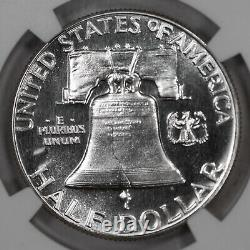 1950 Proof Franklin Half Dollar 50c Ngc Certified Pf 67 (009)