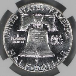 1950 Proof Franklin Half Dollar 50c Ngc Certified Pf Pr 67 (013)