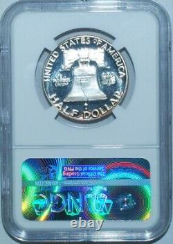 1952 NGC PR64DCAM CAC Deep Cameo Ultra Cameo Proof Strike Franklin Half Dollar