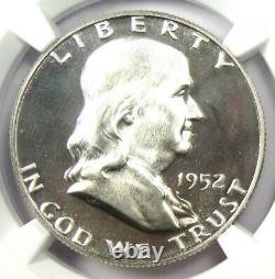 1952 PROOF Franklin Half Dollar 50C NGC PR67 Cameo CAC (PF67) $2,850 Value