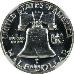 1952 Proof Franklin Half Dollar NGC PF67 PR67 Bright White Superb Gem