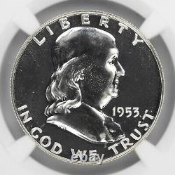 1953 Franklin Half Dollar 50c Ngc Certified Pf 69 Proof Uncirculated (010)