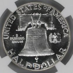 1953 Proof Franklin Half Dollar 50c Ngc Certified Pf Pr 66 Cameo (001)