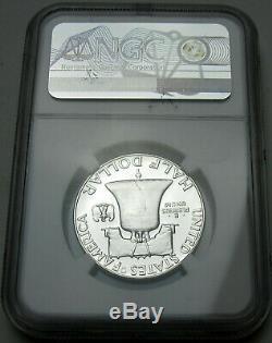 1955 Franklin PF 69 CAMEO Silver Half Dollar NGC Proof 69 Cameo