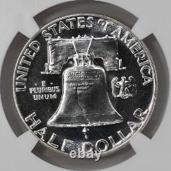 1955 Proof Franklin Half Dollar 50c Ngc Certified Pf 68 Star (001)