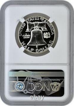1956 Proof Type 2 50c Silver Franklin Half Dollar NGC PF 69 Star