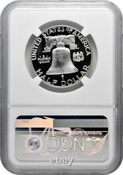 1956 Type 2 50c Silver Proof Franklin Half Dollar NGC PF 69 Star Cameo
