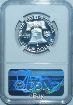 1957 NGC PR68CAM CAC Cameo Franklin Half Dollar
