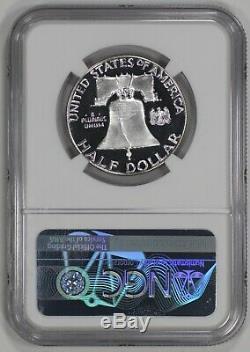 1958 Proof Franklin Half Dollar 50c Ngc Certified Pf Pr 66 Ultra Cameo (002)