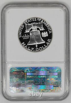 1962 Proof Franklin Half Dollar 50c Ngc & Cac Certified Pf 68 Star Cameo (001)