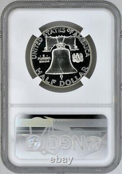 1963 50c Silver Proof Franklin Half Dollar NGC PF 67 Star Cameo