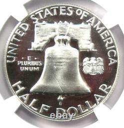 1963 PROOF Franklin Half Dollar 50C Coin NGC PR69 Cameo (PF69) $1,080 Value