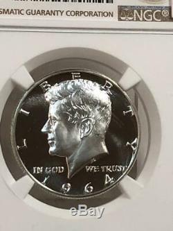 1964 Kennedy Half Dollar Ngc Pf68 Star Cameo Pf Looks Ultra Dcam