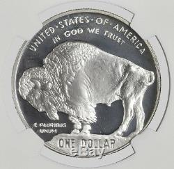 2001 P $1 American Buffalo Commemorative Silver Dollar NGC PF69 Ultra Cameo