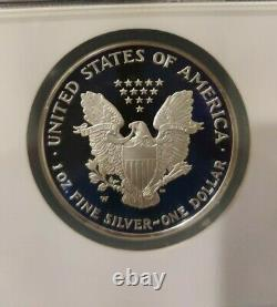 2004 2005 2006-W NGC PF69 UCAM 3 Coin Proof Set American Silver Eagle Dollar