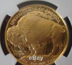 2006 W Buffalo G$50 Dollars Gold. 9999 NGC PF 70 Ultra Cameo UNC