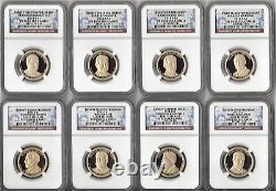2007 S -thru-2016 S Full Set-all 39! Presidential Dollars Ngc Pf70-2 Ngc Boxes