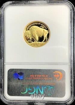2008 W Gold $10 Dollar Proof Buffalo 1/4 Oz Coin Ngc Pf 69 Uc Early Releases
