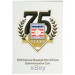 2014-P $1 Proof National Baseball Hall of Fame Silver Dollar NGC PF70UC ER