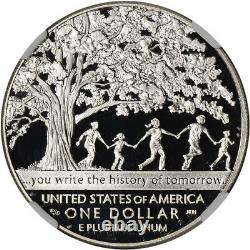 2017-P US Boys Town Commemorative Proof Silver Dollar NGC PF70 UCAM