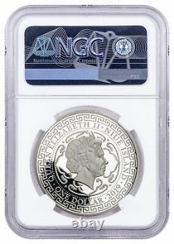 2019 Niue 1 oz Silver $1 Japanese Trade Dollar Proof NGC PF70 UC SKU58796