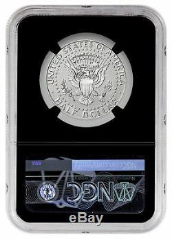 2019-S Enhanced Reverse Proof Kennedy Half Dollar NGC PF70 FDI Black SKU57241