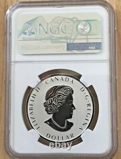 2021 Canada Peace Dollar Reverse Proof NGC PF70 1oz Silver FDOI Taylor Signed