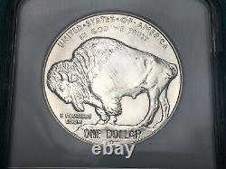 2 Coin Set 2001-P, 2001-D American Buffalo Silver Dollar Coins NGC MS69 & PR69