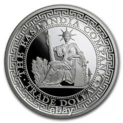 FRENCH TRADE DOLLAR RESTRIKE 2020 1 oz Pure Silver Proof Coin NGC PF70UC NIUE