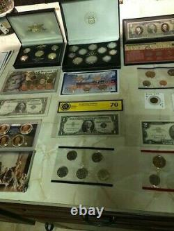 Huge Coin Collection! Gold, Silver, Morgan Dollars, Proof Sets And Much More