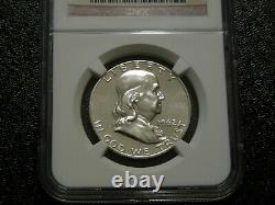 Lot Of 3 Franklin Proof Half Dollars Ngc Pf67 1961, 1962, 1963