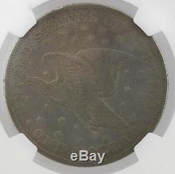 1836 Argent S 1 $ J-60 Gobrecht Ngc Pf 20 Livraison Gratuite USA Only # 3832253-003