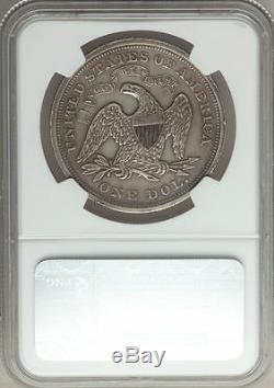 1868 P Dollar Assis 1 $ Ngc Preuve Au Détails Argent Liberté Seulement 600 Minted