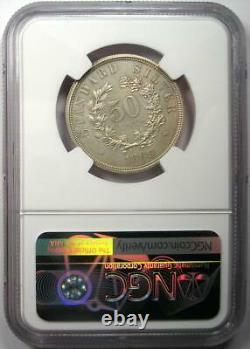 1869 Proof Pattern Half Dollar 50c Coin Judd-754 Ngc Détails De Preuve (pf / Pr)