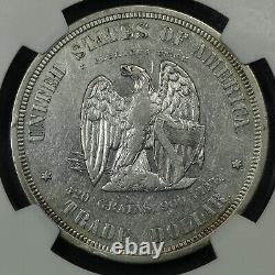 1873 Motif De Preuve Judd-1281 Trade Silver Dollar Coin Ngc Pf 45 Cool Coin