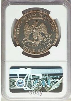 1877 T$1 Trade Dollar Pr65 Ultra Cameo Ngc Pf65uc Ultra Rare Ngc Value 18 000 $
