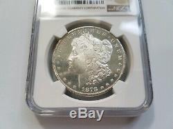 1878 S Argent Morgan Dollar Ngc Ms 63 Dmpl Preuve Profonde Mirrors Comme Pl Dpl