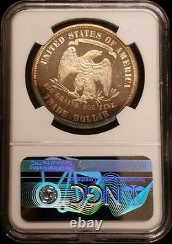 1879 Dollar En Argent Épreuve Numismatique Trade 1 Ngc Pf64 $ + Cameo Seulement 1541 Minted